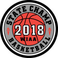 State Basketball 2018 Champ Patch