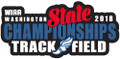 State Track & Field Pin 2018
