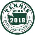 State Tennis 2018 Patch