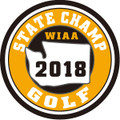 State Golf 2018 Champ Patch
