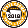 State Track & Field 2018 Champ Patch