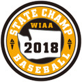 State Baseball 2018 Champ Patch