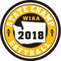 State Softball 2018 Champ Patch