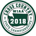 WIAA 2018 State Cross Country Patch