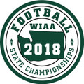 WIAA 2018 State Football Patch
