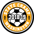 WIAA 2018 State Champion Soccer Patch