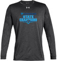 WIAA 2018 State Football Champions Under Amour Long Sleeve - HOCKINSON