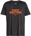 WIAA 2018 State Football Champions Under Amour Short Sleeve T-Shirt - KALAMA