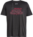 WIAA 2018 State Football Champions Under Amour Short Sleeve T-Shirt  - COLVILLE