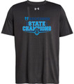 WIAA 2018 State Football Champions Under Amour Short Sleeve T-Shirt - HOCKINSON