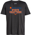 WIAA 2018 State Football Champions Under Amour Short Sleeve T-Shirt - EASTSIDE CATHOLIC