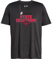 WIAA 2018 State Football Champions Under Amour Short Sleeve T-Shirt - UNION