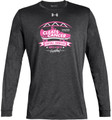 Cleats vs Cancer Under Amour Long Sleeve - Carbon