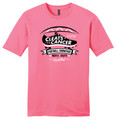 Cleats vs Cancer Football T-Shirt - Pink