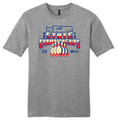 WIAA 2019 State Bowling T-Shirt - Frosty Gray