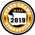 WIAA 2019 State Champion Gymnastics Patch
