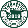 WIAA 2019 State Gymnastics Patch
