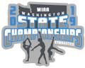 WIAA 2019 State Gymnastics Pin