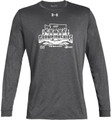WIAA 2019 State Swim & Dive Men's Under Armour Long Sleeve Performance Shirt- Carbon