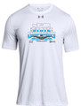 WIAA State 2019 Swim & Dive Under Armour Short Sleeve Performance T-Shirt- White