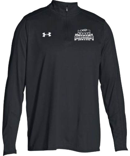 823dec2f WIAA 2019 State Swim & Dive Under Armour Men's Locker 1/4 Zip- Black ...