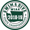 WIAA 2019 State Swim & Dive Patch