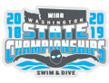WIAA 2019 State Swim & Dive Pin