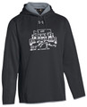 WIAA State 2019 Wrestling Under Armour Double Threat Hoodie- Black