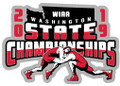 WIAA 2019 State Wrestling Pin