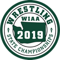 WIAA 2019 State Wrestling Patch