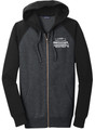 WIAA 2019 State Basketball Men's Full Zip Hoodie- Black/Grey