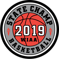 WIAA 2019 State Champion Basketball Patch