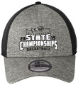 WIAA 2019 State Basketball New Era Hat- Black Shadow