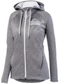 WIAA 2019 State Speech and Debate Ladies Full Zip Two Tone Zoe Hoodie- Graphite/White