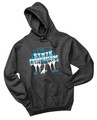 WIAA 2019 State Dance and Drill Hoodie- Black Heather