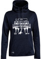 WIAA 201 State Dance and Drill Under Armour Ladies Funnel Neck Fleece- Navy