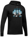 WIAA State 2019 Dance and Drill Men's Under Armour Hustle Hoodie- Black