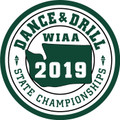 WIAA 2019 State Dance and Drill Patch