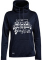 WIAA 2019 State Solo and Ensemble Under Armour Ladies Funnel Neck Fleece- Navy