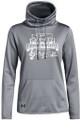Copy of WIAA 201 State Solo and Ensemble Under Armour Ladies Funnel Neck Fleece- Steel