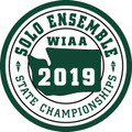 WIAA 2019 State Solo and Ensemble Patch