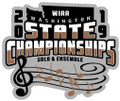 WIAA 2019 State Solo and Ensemble Pin