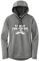 WIAA 2019 State Golf Ladies Posicharge Hoodie- Black Heather