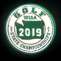 WIAA 2019 State Golf Patch