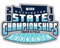 WIAA 2019 State Track & Field Pin