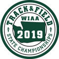 WIAA 2019 State Track & Field Patch