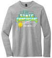 WIAA State 2019 Tennis Long Sleeve T- Light Heather Gray