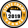 WIAA 2019 State Champion Tennis Patch