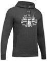WIAA State 2019 Baseball Men's Under Armour Hustle Hoodie- Carbon