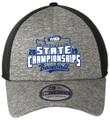 WIAA 2019 State Baseballl New Era Hat- Black/ Shadow Heather